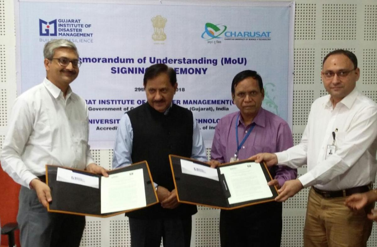 MoU formalised between GIDM and CHARUSAT