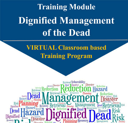 Virtual Classroom Based Training Module on 'Dignified Management of the Deadu 2019