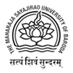 The Maharaja Sayajirao University of Baroda, Vadodara