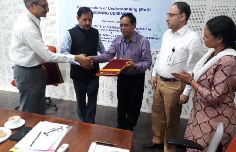MoU Formalised Between GIDM And Charotar University of Science and Technology