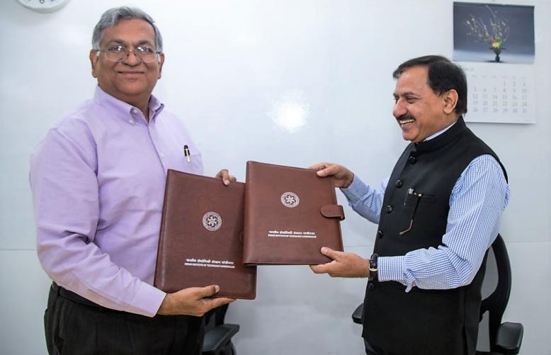 MoU formalised between GIDM and IITGN