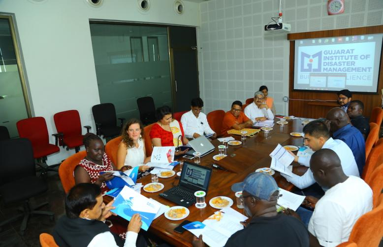 Team from Partners for Resilience visits GIDM