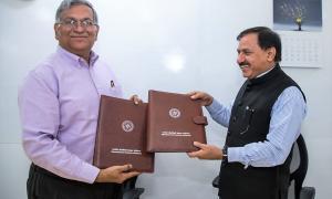 MoU formalised between GIDM and IITGN